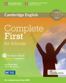 Complete First for Schools SB w/o key + CD-ROM + Testbank