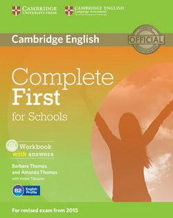 Complete First for Schools WB + key + Audio CD