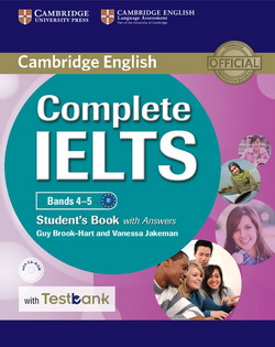 Complete IELTS Bands 4-5 SB + key + CD-ROM + Testbank 4