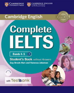 Complete IELTS Bands 4-5 SB w/o key + CD-ROM + Testbank