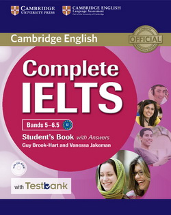 Complete IELTS Bands 5-6.5 SB + key + CD-ROM + Testbank