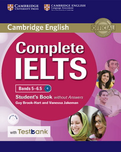 Complete IELTS Bands 5-6.5 SB w/o key + CD-ROM + Testbank
