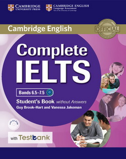 Complete IELTS Bands 6.5-7.5 SB w/o key + CD-ROM + Testbank