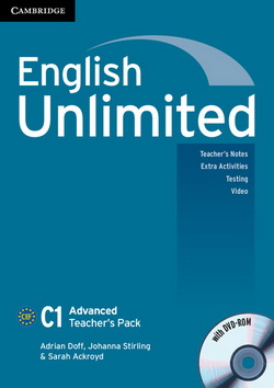 English Unlimited Advanced Teacher's Pack + DVD-ROM