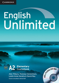 English Unlimited Elementary CB + e-Portfolio DVD-ROM 4