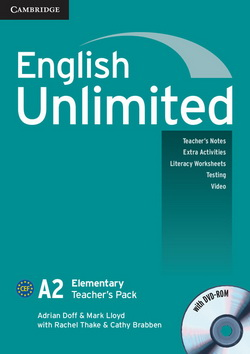 English Unlimited Elementary Teacher's Pack + DVD-ROM
