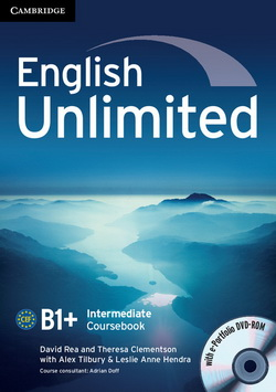 English Unlimited Intermediate CB + e-Portfolio DVD-ROM 4