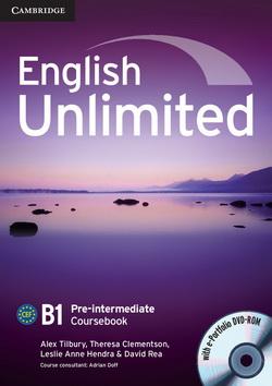 English Unlimited Pre-Intermediate CB + e-Portfolio DVD-ROM 4