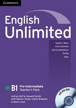 English Unlimited Pre-Intermediate Teacher's Pack + DVD-ROM