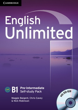 English Unlimited Pre-Intermediate WB + DVD-ROM