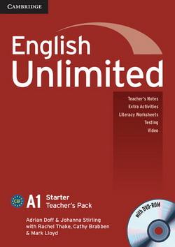 English Unlimited Starter Teacher's Pack + DVD-ROM