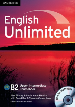 English Unlimited Upper-Intermediate CB + e-Portfolio DVD-ROM 4