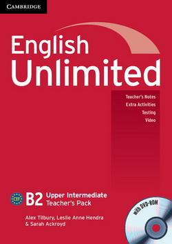 English Unlimited Upper-Intermediate Teacher's Pack + DVD-ROM