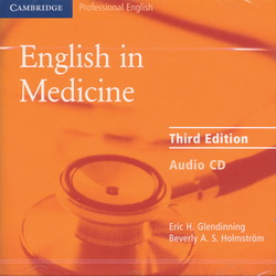 English in Medicine 3rd Edition Audio CD