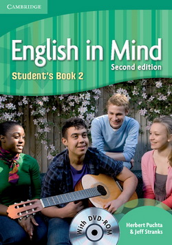 English in Mind 2nd Edition 2 SB + DVD-ROM