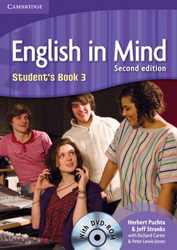 English in Mind 2nd Edition 3 SB + DVD-ROM