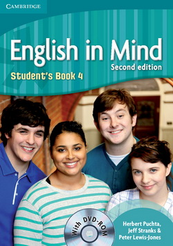 English in Mind 2nd Edition 4 SB + DVD-ROM