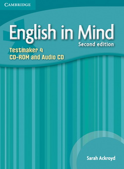 English in Mind 2nd Edition 4 Testmaker CD-ROM/Audio CD