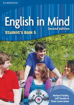 English in Mind 2nd Edition 5 SB + DVD-ROM