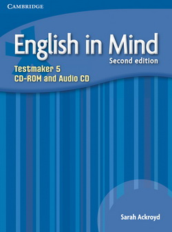 English in Mind 2nd Edition 5 Testmaker CD-ROM/Audio CD