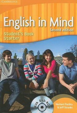 English in Mind 2nd Edition Starter SB + DVD-ROM