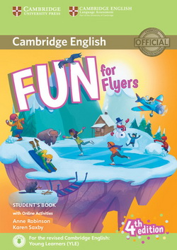 Fun for Flyers 4th Edition SB + Downloadable Audio + Online Activities