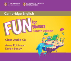 Fun for Movers 4th Edition Audio CD 4