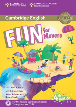 Fun for Movers 4th Edition SB + Downloadable Audio + Online Activities
