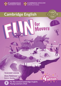 Fun for Movers 4th Edition TB + Downloadable Audio