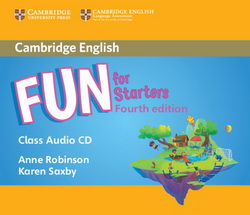 Fun for Starters 4th Edition Audio CD 4