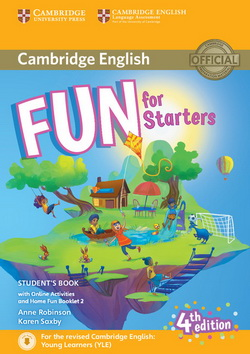 Fun for Starters 4th Edition SB + Downloadable Audio + Online Activities + Home Fun Booklet