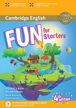 Fun for Starters 4th Edition SB + Downloadable Audio + Online Activities