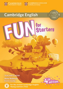 Fun for Starters 4th Edition TB + Downloadable Audio