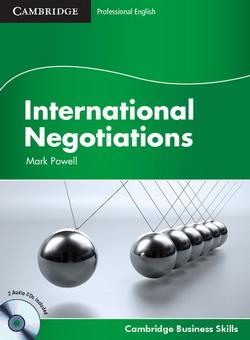 International Negotiations SB + Audio CD