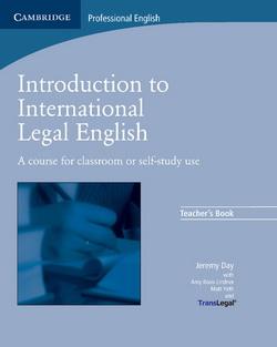 Introduction to International Legal English TB