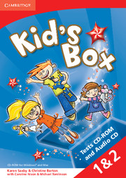 Kid's Box 2nd Edition 1 1+2 Tests CD-ROM + Audio CD 4