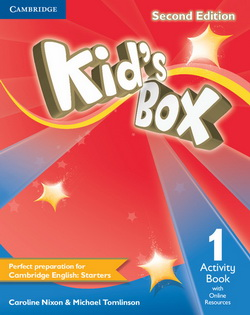 Kid's Box 2nd Edition 1 AB + Online Resources