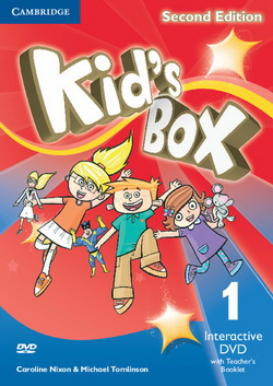 Kid's Box 2nd Edition 1 Interactive DVD + Teacher's Booklet 4
