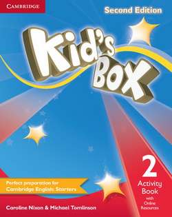 Kid's Box 2nd Edition 2 AB + Online Resources 4