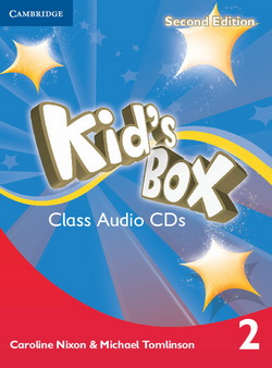 Kid's Box 2nd Edition 2 Class CDs