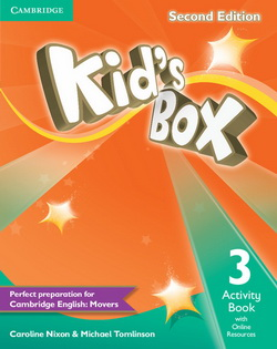 Kid's Box 2nd Edition 3 AB + Online Resources 4