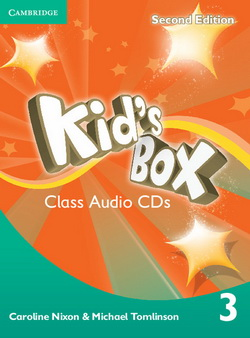 Kid's Box 2nd Edition 3 Class CDs