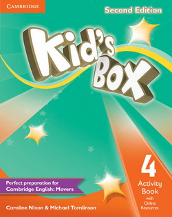Kid's Box 2nd Edition 4 AB + Online Resources 4