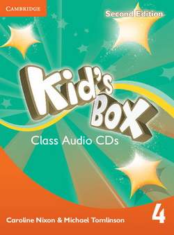 Kid's Box 2nd Edition 4 Class CDs