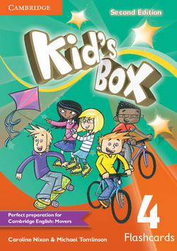 Kid's Box 2nd Edition 4 Flashcards
