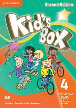 Kid's Box 2nd Edition 4 Interactive DVD + Teacher's Booklet