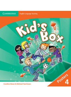 Kid's Box 2nd Edition 4 Posters