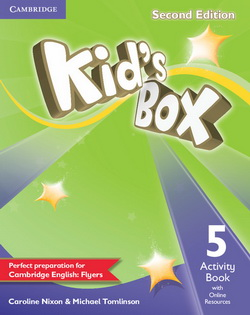 Kid's Box 2nd Edition 5 AB + Online Resources 4