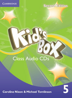 Kid's Box 2nd Edition 5 Class CDs