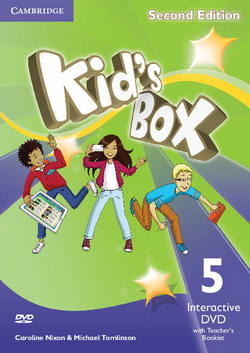 Kid's Box 2nd Edition 5 Interactive DVD + Teacher's Booklet